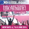 Early bird tickets Extrema Outdoor Belgium.
